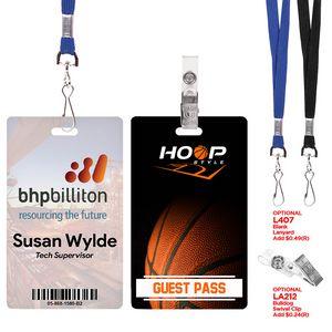 Digital ID/Credential Badge (3 3/8x 2 1/8)