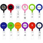 Custom Round Shaped Retractable Badge Holder