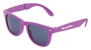 6f8e3d6bf0 Collapsible Frame Retro Sunglasses - J621 - IdeaStage Promotional Products