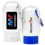 Custom Sunscreen SPF 30 w/Carabiner (Direct Import-8-10 Weeks Ocean)