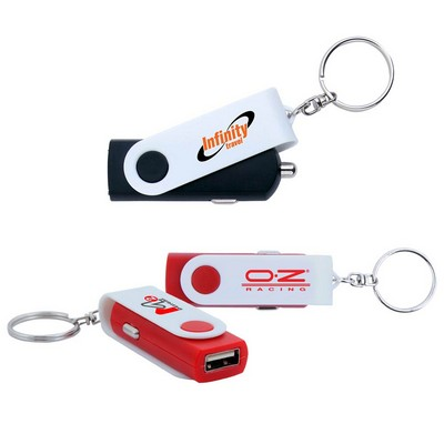 USB Charger Key Chain