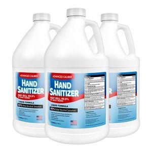 1 Gallon Advanced Caliber Premium Liquid Hand Sanitizer Refill (80% Alcohol)