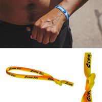 "3/8"" Sublimated Wrist Lanyard With Knot (Direct Import - 10 Weeks Ocean)"