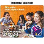 Custom Full-Color Custom 100-Piece Jigsaw Puzzle