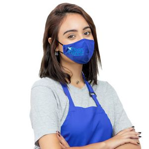 Ionshield 2-Ply Deluxe Cooling Face Mask With Pocket For Filter & Ear Loop Adjustments