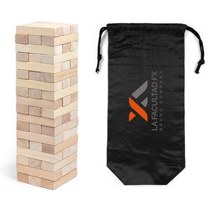 Stacking Puzzle Set with Polyester Pouch