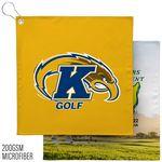 2x12 Sublimated Golf Towel w/Grommet - 200GSM - Sublimation