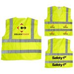 Custom Quick Release ANSI 2 Safety Vest