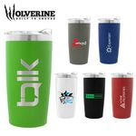 Custom Wolverine 20 oz. Powder Coated Wolverine with Copper Lining Tumbler