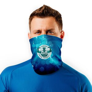 Graphic Sport Mesh Cooling Neck Gaiter Face Mask