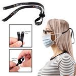 Adjustable Clip-On Ear Saver Behind The Head Face Mask Loop Holder Full Color Dye-Sub (Direct Import