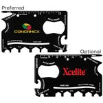Custom Crossover Outdoor 23 Function Tactical Card Tool (Direct Import - 10 Weeks Ocean)