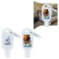 1 Oz. Hand Sanitizer Gel w/Carabiner (Direct Import - 10 Weeks Ocean)