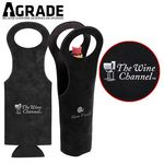 AGRADE The Suede Leatherette Wine Tote