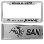 Custom Chrome Plated Zinc Die Cast Painted License Plate Frame (Overseas Production)
