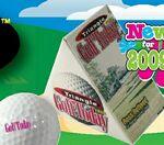 Custom Single Golf Ball in Triangle Box
