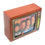 Custom Television Box with Stock Compressed T-Shirt