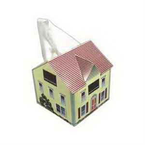 Custom Printed House Shaped Tissue Boxes