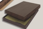 Custom Walnut Plaque Presentation Box (9
