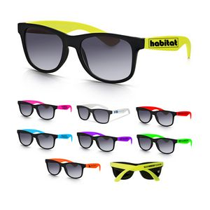 910b49eece9 Traveler Two Tone Sunglasses - HX-155193 - IdeaStage Promotional Products