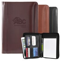Atlantis Leather Junior Portfolio (Burgundy)