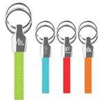 Custom iPosh PU Valet Key Chain - Lime Green
