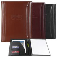 Atlantis Leather Padfolio (brown)