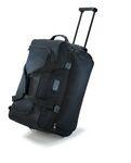 Custom Compact Rolling Duffel Bag (black)