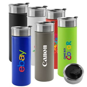 18 Oz. Newport Double Wall Stainless Steel Vacuum Insulated Canteen