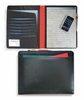 Black Matrix Padfolio (Black/Red)