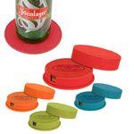 Custom iPosh Round Coaster Set - Red