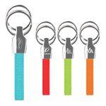 Custom iPosh PU Valet Key Chain - Teal Green