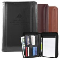 Atlantis Leather Junior Portfolio (Black)