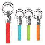 Custom iPosh PU Valet Key Chain - Red