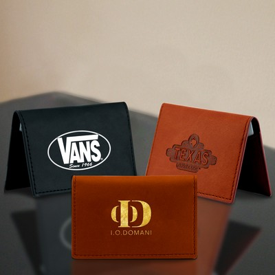 Calico graphics riverside california 92506 elite tpu leather business card holder english tan reheart Choice Image