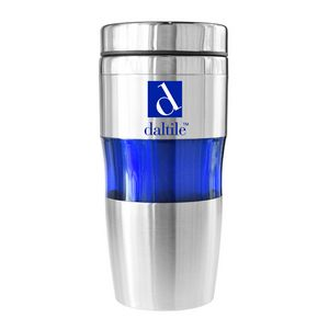 389a8bad7c9 Marin 16 Oz Double Wall Stainless Steel Tumbler (Blue) - DW-906692 -  IdeaStage Promotional Products