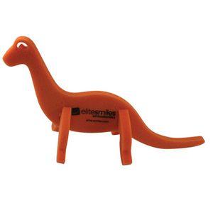 Dinosaur on a leash, JU102, 1 Colour Imprint