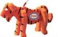 Tiger on a Leash, TI101, 1 Colour Imprint
