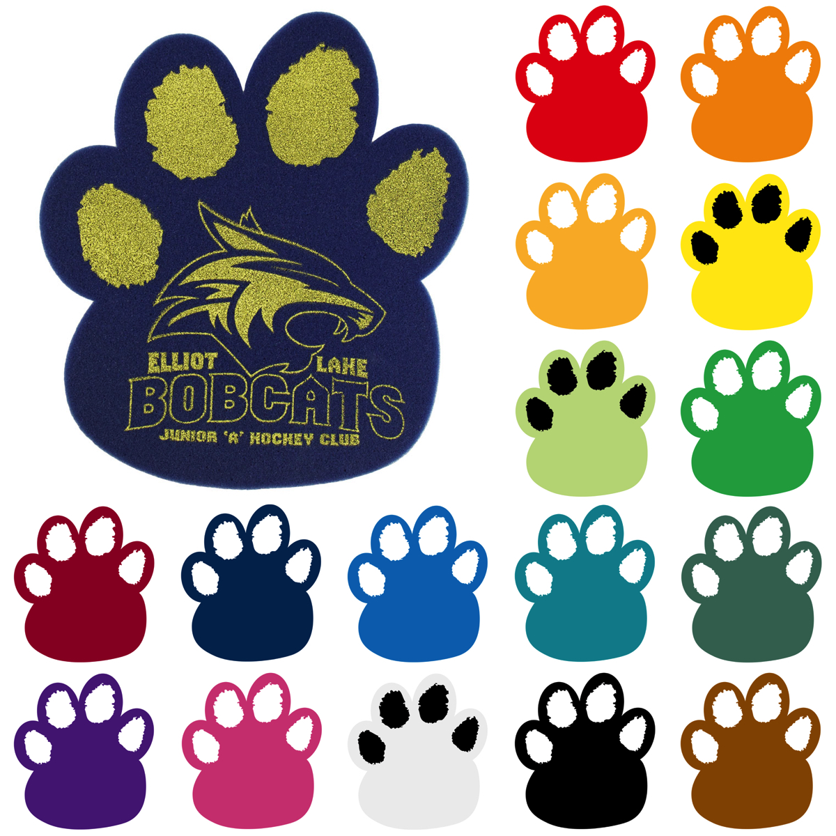 Paw Mitt, BC3013, 1 Colour Imprint