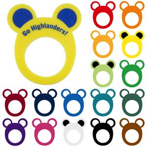 Round Animal Ears Pullover Visor, MOUSE201, 1 Colour Imprint