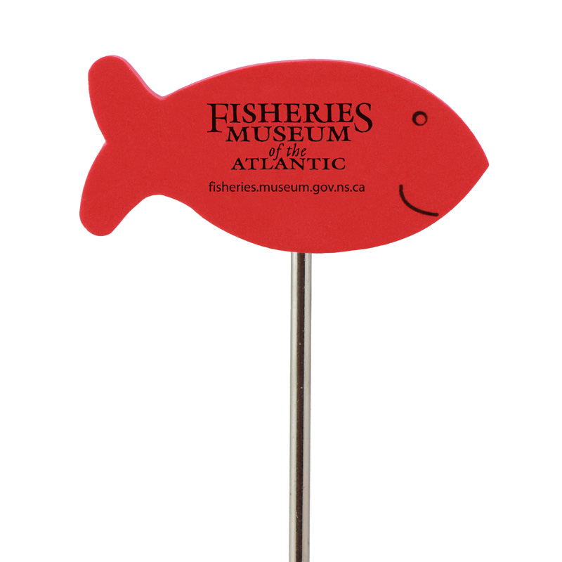 Foam Fish Antenna Topper, FIS602, Full Colour Imprint