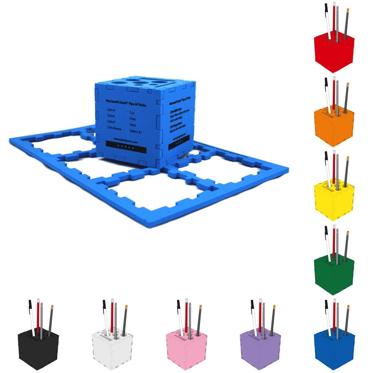 Foam Desktop Puzzle Cube (3