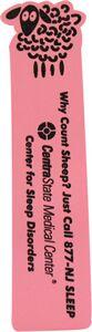 Foam Bookmark - Sheep Top, BMS501, Full Colour Imprint