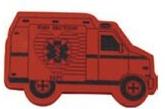 Foam Antenna Topper -Ambulance, AMB602, Full Colour Imprint