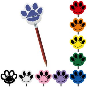 Foam Antenna Topper - Paw, PAW601, Full Colour Imprint