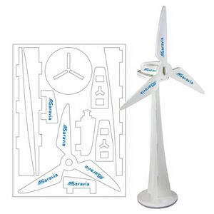 Foam Wind Turbine Puzzle, WIND501, 1 Colour Imprint