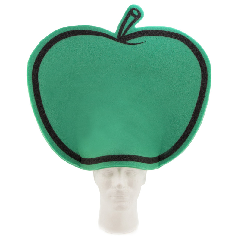 Giant Apple Hat, APP202, 1 Colour Imprint