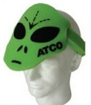 Alien Foam Hat, AL202, 1 Colour Imprint