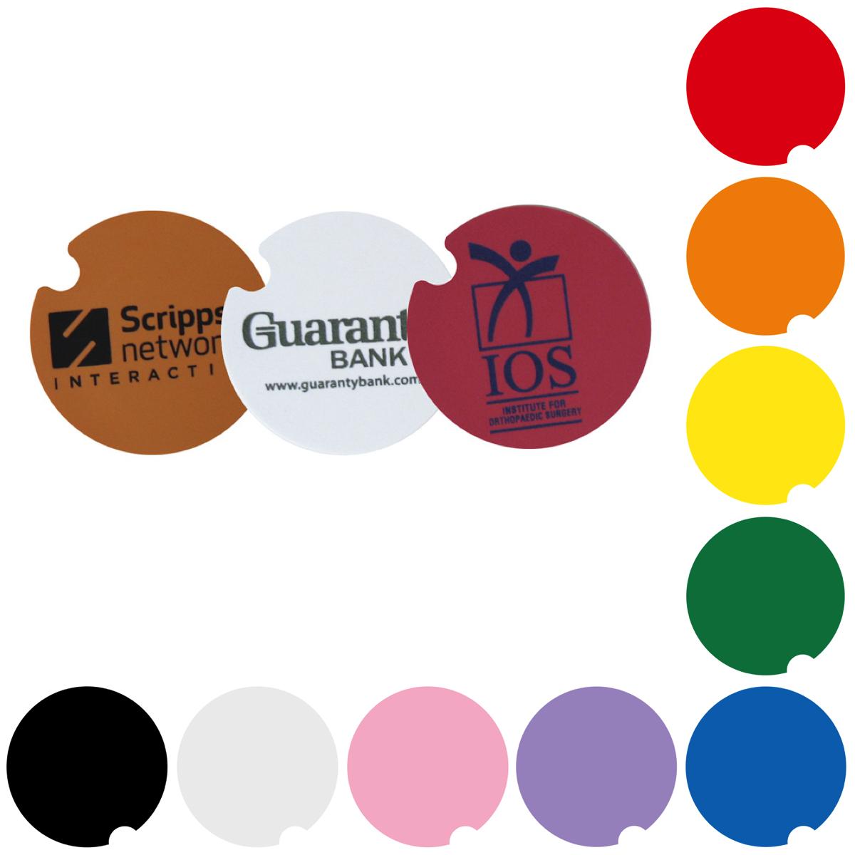Car Cup Coaster, COA504, Full Colour Imprint