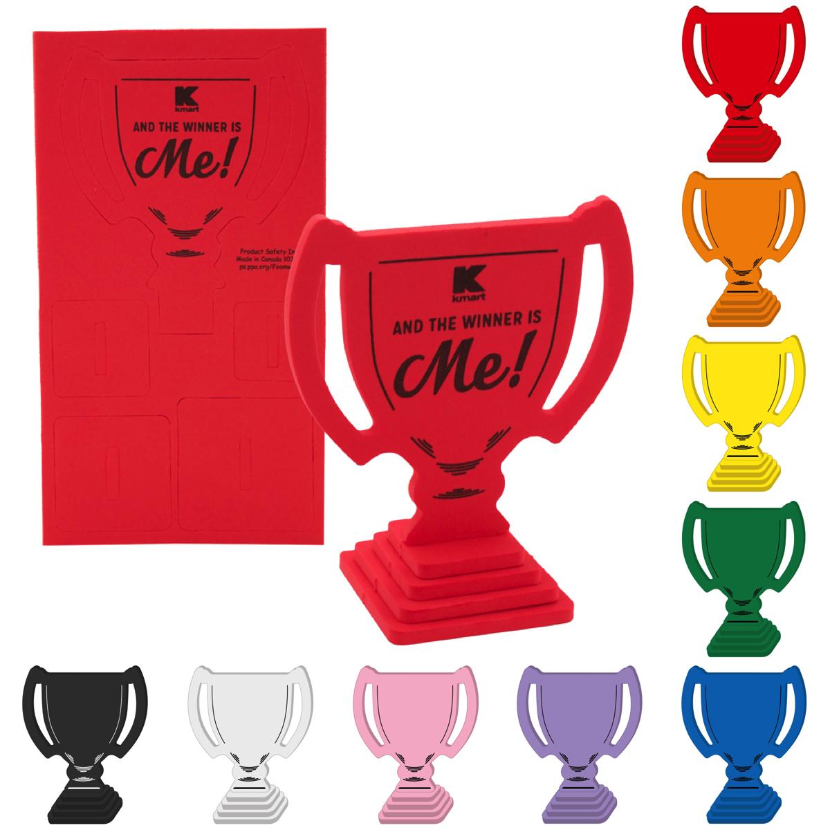 Foam Trophy Puzzle, TRO502, 1 Colour Imprint